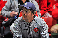 Fleetwood Town's manager Joey Barton Fleetwood Town's manager Joey Barton during the The Leasing.com Trophy match between Fleetwood Town and Liverpool U21 at Highbury Stadium, Fleetwood, England on 25 September 2019. Photo by Stephen Buckley / PRiME Media Images.