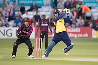 Tom Westley of Essex CCC drives through the covers during Essex Eagles vs Somerset, Vitality Blast T20 Cricket at The Cloudfm County Ground on 7th August 2019