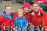 Attending Listowel coursing on Sunday last were Aoife O'Donnell, Jamie O'Donnell, Sharianne O'Donnell & Raylene Belle