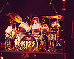Kiss 1976 Peter Criss.© Chris Walter.