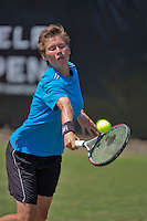 Netherlands, Rosmalen , June 11, 2015, Tennis, Topshelf Open, Autotron, Demi Schuurs (NED)<br /> Photo: Tennisimages/Henk Koster