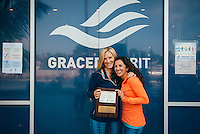 Kimberly Caccavo and Kate Nowlan at Grand Opening of GRACEDBYGRIT Flagship Store (Photo by Tiffany Chien/Guest Of A Guest)