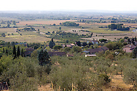 Paesaggio nei pressi di Cortona.<br /> Countryside around Cortona, Tuscany.<br /> UPDATE IMAGES PRESS/Riccardo De Luca