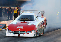Jul. 26, 2013; Sonoma, CA, USA: NHRA funny car driver Todd Lesenko during qualifying for the Sonoma Nationals at Sonoma Raceway. Mandatory Credit: Mark J. Rebilas-