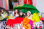 BELIEBER FANS: Courtney Wheatcroft, Stephen Ahern and Chloe Smith camped out all night for tickets to the Justin Bieber concert in Dublin November next year.