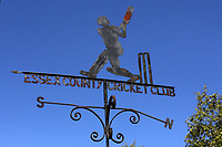 Blue skies behind the weather vane ahead of Essex CCC vs Nottinghamshire CCC, Specsavers County Championship Division 1 Cricket at The Cloudfm County Ground on 15th May 2019