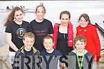 Castletownbere rowers at the Kenmare Regatta on Sunday front row l-r: Cian Crowley, Fiachra Murphy, Ultan O'Shea. Back row: Siomhadh Murphy, Ciara Hurley, Muireann Murphy and Shannon Hanley..