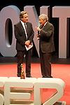 "The spanish journalists Inaki Gabilondo and Fernando Onega during the Gala ""Contigo"" in celebration of the 90th anniversary of Radio Madrid Cadena SER. June 2, 2015. (ALTERPHOTOS/Acero)"