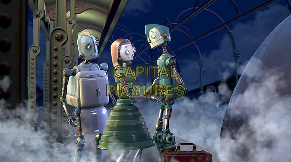 MR. & MRS COPPERBOTTOM & RODNEY COPPERBOTTOM (VOICED BY STANLEY TUCCI, DIANNE WIEST & EWAN McGREGOR).in Robots.*Editorial Use Only*.www.capitalpictures.com.sales@capitalpictures.com.Supplied by Capital Pictures.