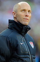 USA Manager Bob Bradley. USA vs Slovenia in the 2010 FIFA World Cup at Ellis Park in Johannesburg, South Africa on June 18th, 2010.