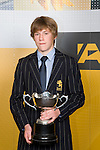 Sportsman of the Year Paul Snow-Hansen from Takapuna Grammar School. ASB College Sport Young Sportperson of the Year Awards 2007 held at Eden Park on November 15th, 2007.