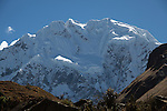 Nevado Salkantay is the highest peak of the Cordillera Vilcabamba