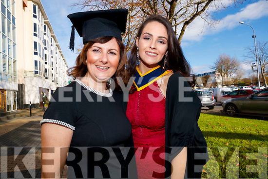 Michelle O'Sullivan, pictured with her daughter Niamh O'Sullivan, who graduated in General Nursing from IT, Tralee, on Friday morning last, at the Brandon Conference Centre, Tralee.