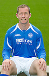 St Johnstone FC...Season 2011-12.Frazer Wright.Picture by Graeme Hart..Copyright Perthshire Picture Agency.Tel: 01738 623350  Mobile: 07990 594431