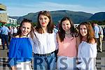 Hannah Hallissey, Aoife O'Sullivan, Rebecca McHugh and Ciara O'Sullivan Beaufort at the Killarney Races on Monday evening