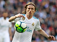 Real Madrid's Luka Modric during La Liga match. April 8,2018. (ALTERPHOTOS/Acero) /NortePhoto NORTEPHOTOMEXICO