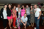 Rebecca Dyas celebrating her 21st birthday in Redz with all her family. Photo:Colin Bell/pressphotos.ie