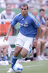 July 4 2007:  Yura Movsisyan (17) of the Wizards.  The MLS Kansas City Wizards lost to the visiting D.C. United 0-1 at Arrowhead Stadium in Kansas City, Missouri, in a regular season league soccer match.