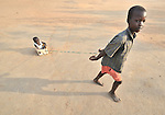Children playing in Yei, Southern Sudan. NOTE: In July 2011, Southern Sudan became the independent country of South Sudan