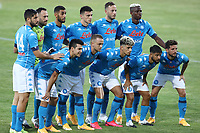 SSC Napoli Team line-up <br /> during the friendly football match between SSC Napoli and L Aquila 1927 at stadio Patini in Castel di Sangro, Italy, August 28, 2020. <br /> Photo Cesare Purini / Insidefoto