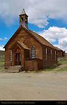 Methodist Church, Bodie Ghost Town, Mono, California