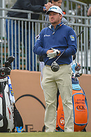 Graeme McDowell (NIR) looks over his tee shot on 10 during Round 3 of the Valero Texas Open, AT&T Oaks Course, TPC San Antonio, San Antonio, Texas, USA. 4/21/2018.<br /> Picture: Golffile | Ken Murray<br /> <br /> <br /> All photo usage must carry mandatory copyright credit (© Golffile | Ken Murray)