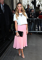 Lauren Pope arriving for the TRIC Awards 2014, at Grosvenor House Hotel, London. 11/03/2014 Picture by: Alexandra Glen / Featureflash