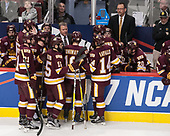 Scott Sandelin (UMD - Head Coach) - The University of Denver Pioneers defeated the University of Minnesota Duluth Bulldogs 3-2 to win the national championship on Saturday, April 8, 2017, at the United Center in Chicago, Illinois.