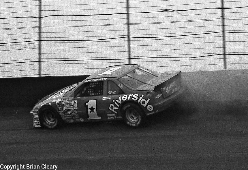 ARCA action  at Atlanta International Raceway in Hampton, GA, November 1988.  (Photo by Brian Cleary/www.bcpix.com)