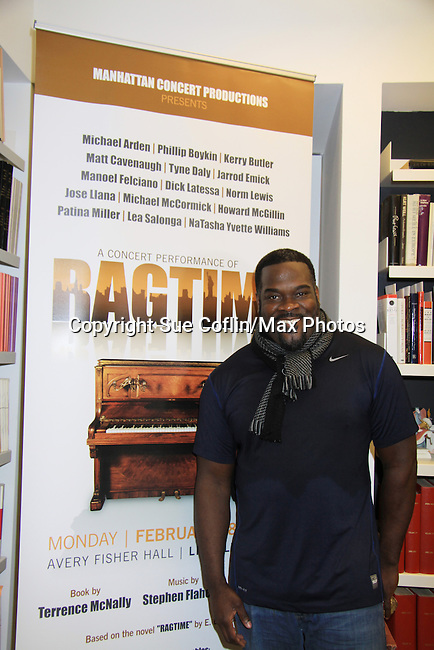 Rehearsals for Ragtime starring Phillip Boykin on February 11, 2013 for a concert at Avery Fisher Hall, New York City, New York on Monday February 18, 2013. (Photo by Sue Coflin/Max Photos)