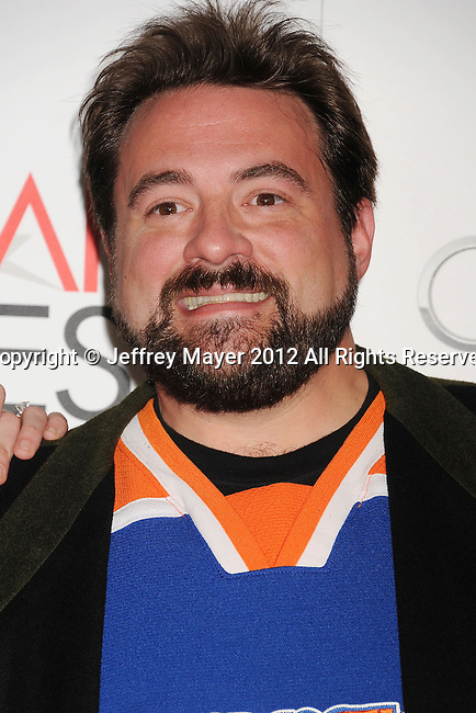 HOLLYWOOD, CA - NOVEMBER 01: Kevin Smith  arrive at the opening night gala premiere of 'Hitchcock' during the 2012 AFI FEST at Grauman's Chinese Theatre on November 1, 2012 in Hollywood, California.