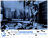 Birdman of Alcatraz (1962) <br /> Lobby card with Burt Lancaster<br /> *Filmstill - Editorial Use Only*<br /> CAP/KFS<br /> Image supplied by Capital Pictures