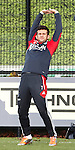 Nederland, Amsterdam, 19 oktober  2012.Seizoen 2012-2013.Training Ajax.Miralem Sulejmani van Ajax traint apart met jong Ajax