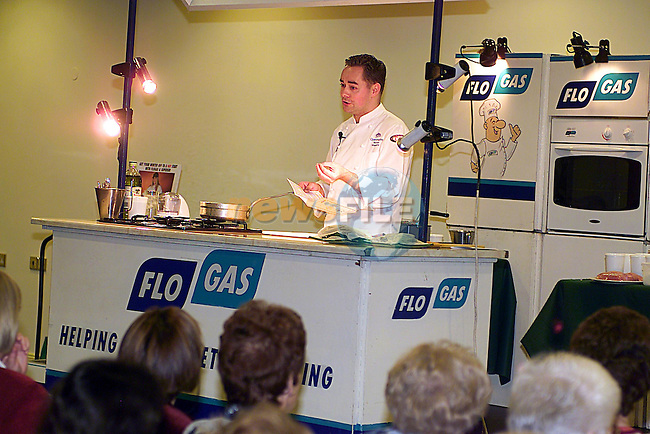 Neven Maguire at The Flo Gas Cookery Demonstration in The Boyne Valley Hotel...Pic Tony Campbell Newsfile