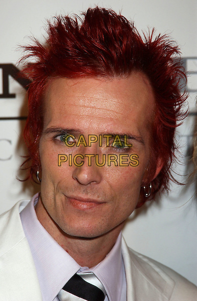 VELVET REVOLVER - SCOTT WEILAND.Sony BMG Grammy Party 2005 held at the Roosevelt Hotel, Los Angeles, California.February 13th, 2005.Photo Credit: Laura Farr/AdMedia.headshot portrait earrings piercings dyed red hair.www.capitalpictures.com.sales@capitalpictures.com.© Capital Pictures.