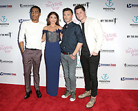 "LOS ANGELES - SEP 13:  Tyler James Williams, Sarah Hyland, Robert Luketic, Matt Shively at the ""The Wedding Year"" Premiere at the ArcLight Hollywood on September 13, 2019 in Los Angeles, CA"