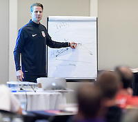 Houston, TX - October 12, 2016: U.S. Soccer held an A License Coaches Education course at the Houston Dynamo Academy and Sports Park.