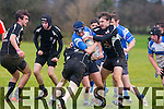In Action Tralee RC Sean Dowling Captain in the South Munster U18 match Tralee v Cobh Pirates at O'Dowd Park on Saturday