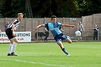 Luke O'Niel of Wycombe Wanderers during the Friendly match between Maidenhead United and Wycombe Wanderers at York Road, Maidenhead, England on 30 July 2016. Photo by Alan  Stanford PRiME Media Images.