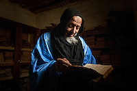 The leader of the Boujbeja village, Cheik Bey, is trying to preserve ancient manuscripts from his family. Sadly, many of them have been lost or severely damaged but for those that remain it is a magnificent reminder of Africa's literary history. /Felix Features