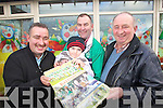 Pictured with the new Ballyduff GAA Calendar Gerard Guerin, Christopher Ross, Liam Ross and JP Hussey.