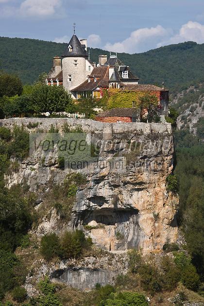 Europe/France/Midi-Pyrénées/46/Lot/Vallée de la Dordogne/Lacave: Env du château de Belcastel