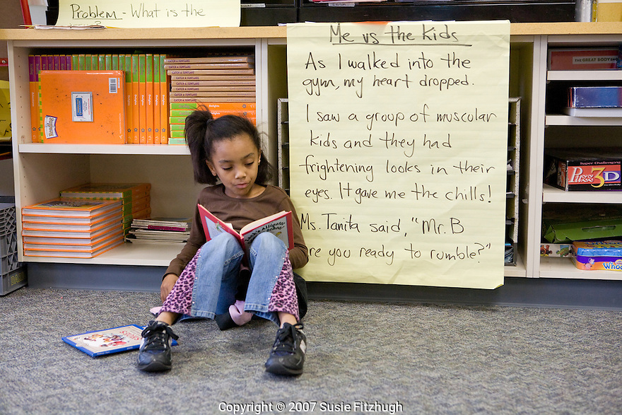 Madrona K-8 School in Seattle, WA: Silent Reading
