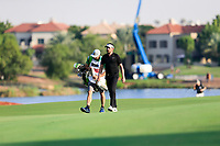 Mike Lorenzo-Vera (FRA) on the 18th fairway during the final round of the DP World Tour Championship, Jumeirah Golf Estates, Dubai, United Arab Emirates. 24/11/2019<br /> Picture: Golffile | Fran Caffrey<br /> <br /> <br /> All photo usage must carry mandatory copyright credit (© Golffile | Fran Caffrey)