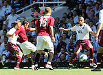 Roma's Ludovic Guily scoring his sides opening goal. .Pic SPORTIMAGE/David Klein..Pre-Season Friendly..West Ham United v Roma..4th August, 2007..--------------------..Sportimage +44 7980659747..admin@sportimage.co.uk..http://www.sportimage.co.uk/