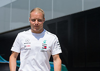 VALTTERI BOTTAS (FIN) of Mercedes-AMG Petronas Motorsport during The Formula 1 2018 Rolex British Grand Prix at Silverstone Circuit, Northampton, England on 8 July 2018. Photo by Vince  Mignott.