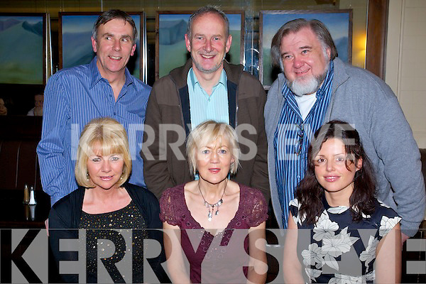 The Irish college of Homeopathic medicine enjoying their Christmas  party at Brandon Hotel on Saturday Night..Front from Left: Jill Higgs, Fran Malone, Donna Morgan..Back Row: Wayne Ellen, Ray Nolan, Anthony Buckley.   Copyright Kerry's Eye 2008