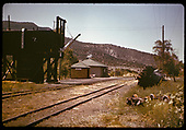Water tank and station - Arboles.<br /> D&amp;RGW  Arboles, CO
