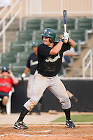 Casey Craig (32) of the Savannah Sand Gnats at bat at Fieldcrest Cannon Stadium in Kannapolis, NC, Sunday July 20, 2008. (Photo by Brian Westerholt / Four Seam Images)