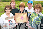 ART ATTACK: Some of the artists who are to exhibit their work at Halla Le Che?ile in Brandon this weekend, l-r: Deirdre Lynch (Brandon), Mags Millar (Firies), Carmel O'Shea (Aughacashla), Seamus O'Donnell (Camp)  and Mary Walsh (Liscarney).   Copyright Kerry's Eye 2008